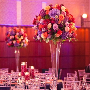 Tall Bright Blooming Centerpieces