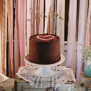 Seven-Layer Chocolate Wedding Cake