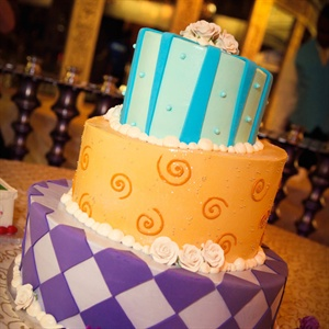 Mad Hatter Styled Wedding Cake