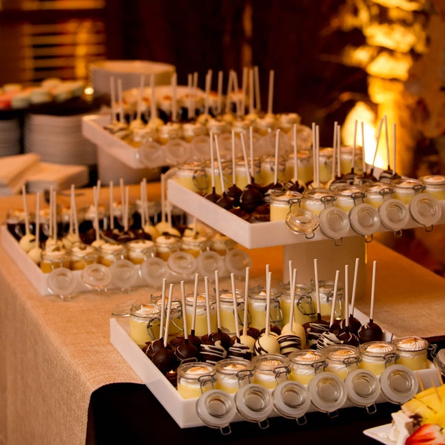 Wedding Reception Dessert Table: Reception Dessert Table