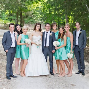 Tiffany Blue Bridesmaid Dresses