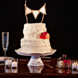 DIY, Two-Tier Wedding Cake
