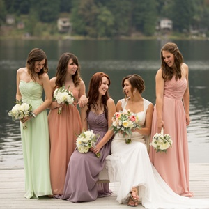 Colorful Bridal Party