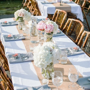 Rustic and Romantic Reception Decor