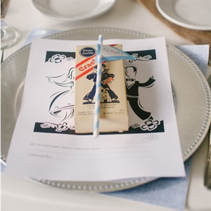 Cracker Jack Place Cards