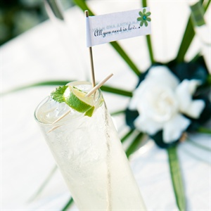 Signature Cocktail with Lime