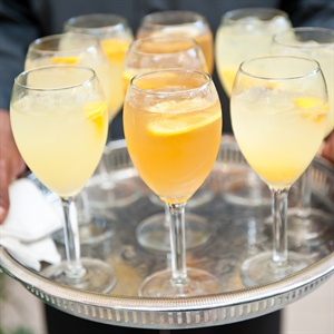 Orange and Yellow Citrus Cocktails