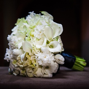 Calla Lily and Tulip Bridal Bouquet