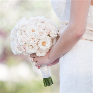 Ivory Spring Bridal Bouquet