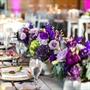 Whimsical Purple Table Decor