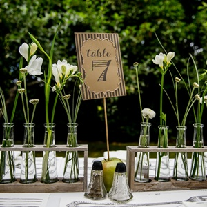 Test Tube Centerpieces