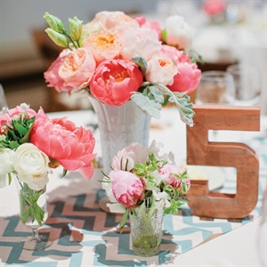 Handmade Wood Table Number