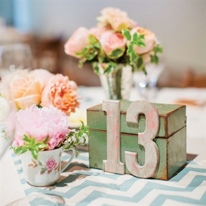 Rustic DIY Table Number