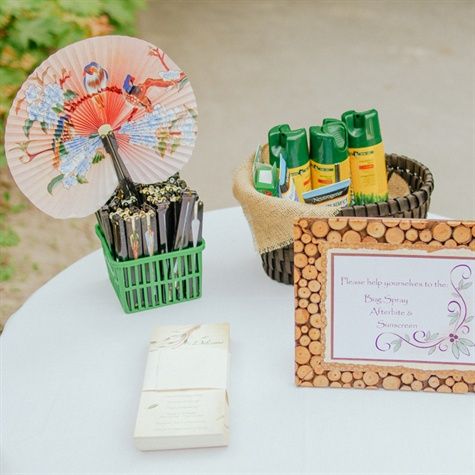 Outdoor Ceremony Essentials