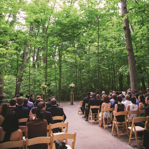 Outdoor Rustic Ceremony
