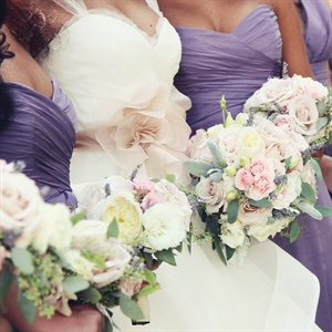 Blush-Colored Bouquets