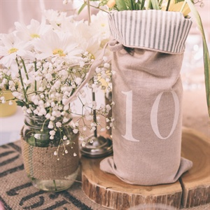 DIY Table Numbers