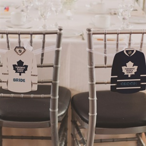 Hockey Jersey Chair Decor
