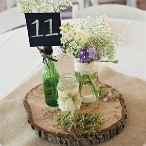 Rustic Jar Centerpiece