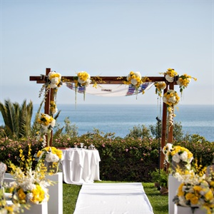 Beautiful Oceanfront Wedding Ceremony
