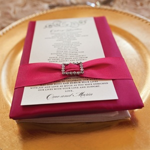 Belted Order of Reception Card
