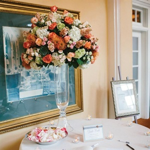 Guest Book Table Display