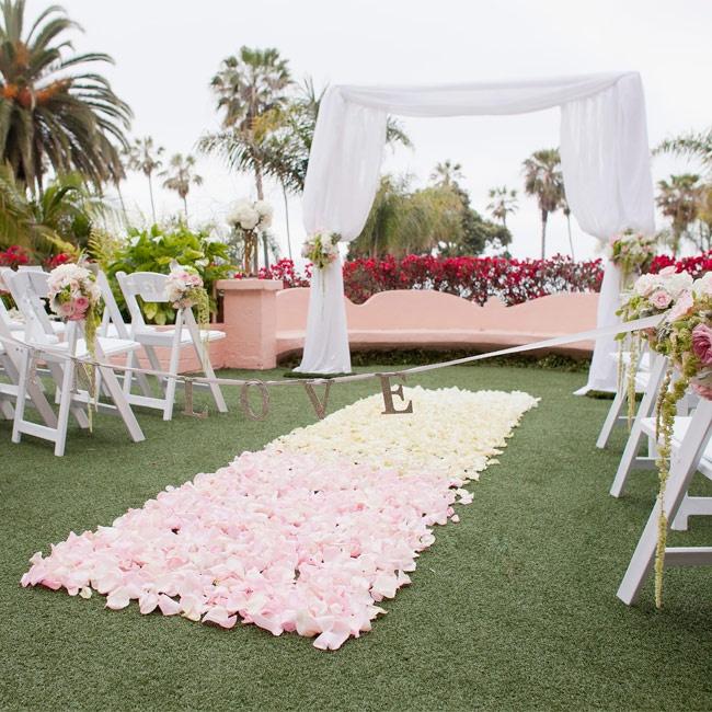 A Romantic Outdoor Wedding In La Jolla CA