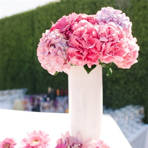 Pink Reception Flowers