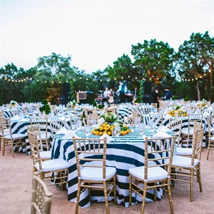 Outdoor Reception Decor