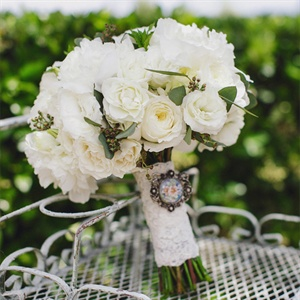 Romantic Garden Bridal Bouquet