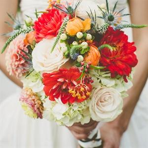 Vivid Bridal Bouquet