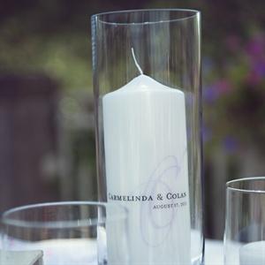 White Unity Candle
