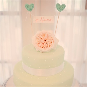 Mint Green Wedding Cake