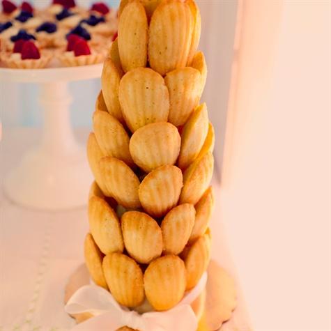 French Madeleine Cake