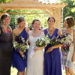 Eclectic Purple Bridesmaid Looks