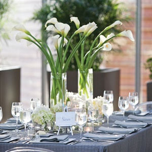 Calla Lily and Hydrangea Centerpiece