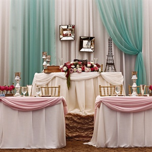 French Inspired Reception Decor