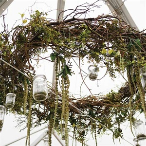 Hanging Branch Wreath