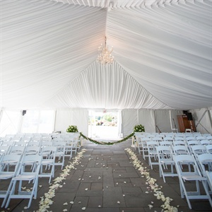 Elegant Tented Ceremony