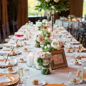 Romantic Reception Tablescapes