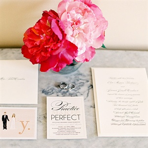 Muted Color Invitation Suite