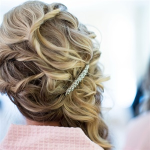 Romantic Bridesmaid Hair