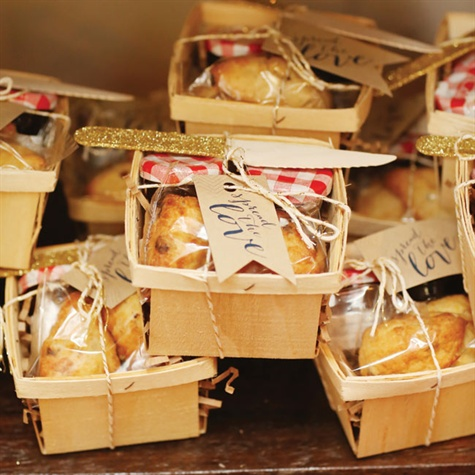 Scone and Jelly Favors
