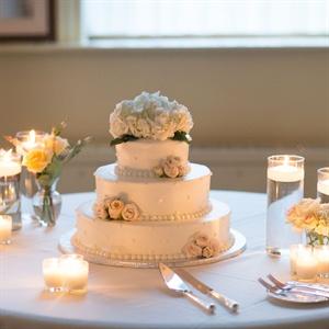 Formal Floral Cake