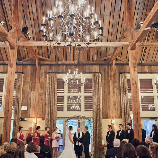 A Rustic, Chic Wedding In Groton, MA