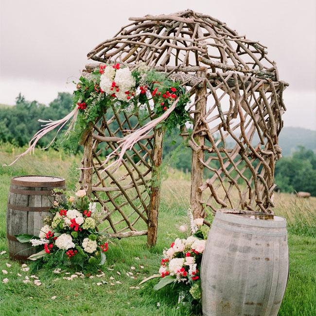 Wedding Altar Name: Tree Branch Ceremony Arch