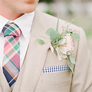 Light Pink Boutonniere