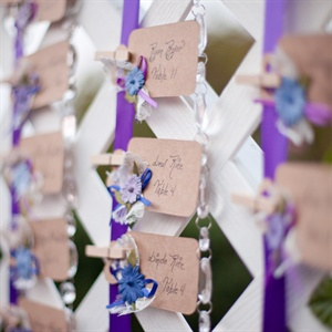 Escort Card Lattice Display