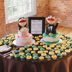 Muppets Wedding Cake