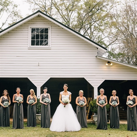 Dark gray bridesmaid dresses for Wedding dresses albany ga
